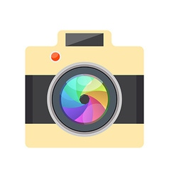 Camera easy picture - flat design - infographic vector