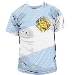 Argentinean tee vector
