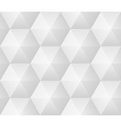 Seamless pattern - geometric modern hexagon polygo vector