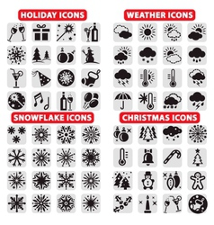 Big set of icons vector