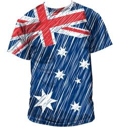 Australian tee vector
