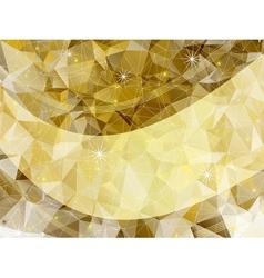 Holiday golden frame vector