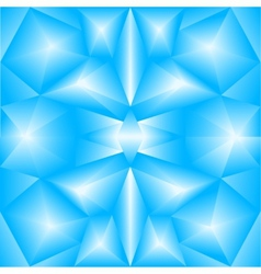 Abstract triangular gradient blue background vector