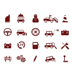Auto car service icon vector