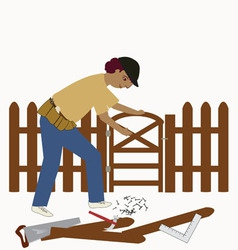 The handyman vector