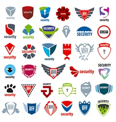 Biggest collection of logos protection and vector