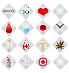 Set of medical icons-1 vector