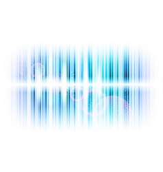 Vertical lines abstract blue vector