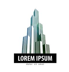 City logo design template building or vector