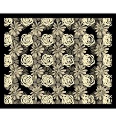 Multi-level floral stereogram vector