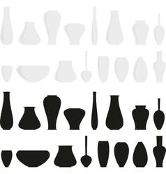Vases vector