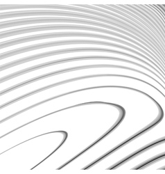 Design monochrome waving lines background vector