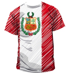 Peruvian tee vector