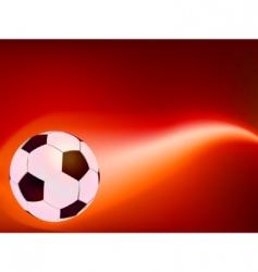 Cartoon soccer icon vector