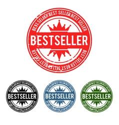 Bestseller grunge stamp vector