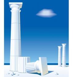 Antic columns vector