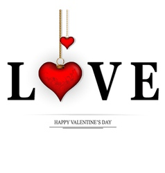 Word love concept vector