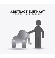 Animal abstract vector