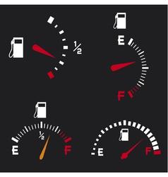 Gas gauge vector
