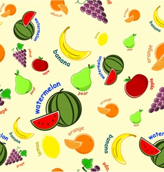 Fruit wallpaper vector