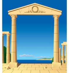 Antic entrance vector