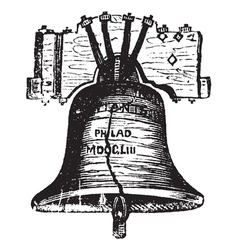 Liberty bell usa vector