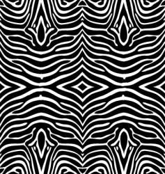 Zebra skin wallpaper vector