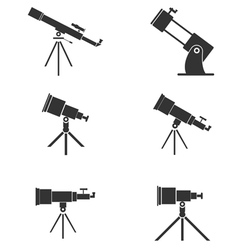 Telescopes vector