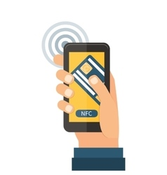 Mobile payments near field communication vector