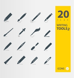 Writing tools 2 vector