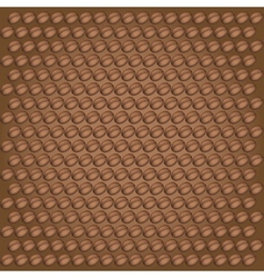 Coffee bean background vector