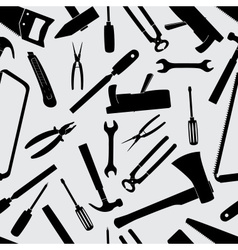 Hand tools icons pattern eps10 vector