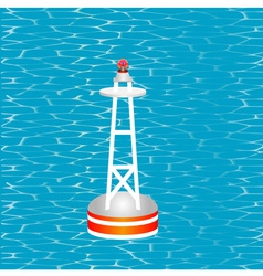 Nautical buoy vector