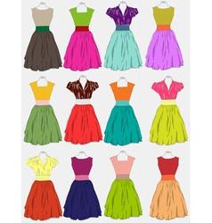 Beautiful dress vector