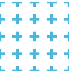 Unique cross seamless pattern vector