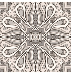 Grey ornament vector