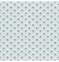 Geometric seamless waves pattern vector
