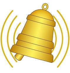 Ringing bell vector