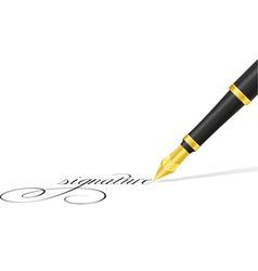 Ink pen 02 vector