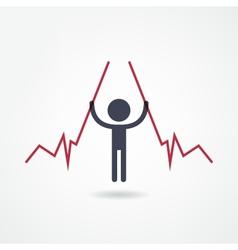 Income icon vector