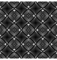 Design seamless diamond striped geometric pattern vector