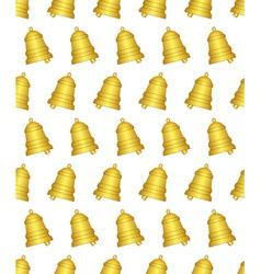 Ringing bell pattern vector