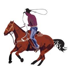 American rider vector