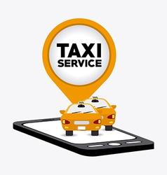Taxi design vector