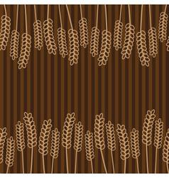 Grain brown pattern eps10 vector