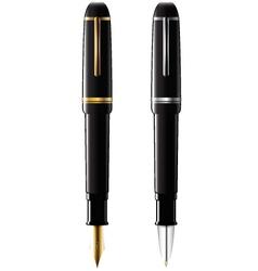 Ballpoint and fountain pens vector