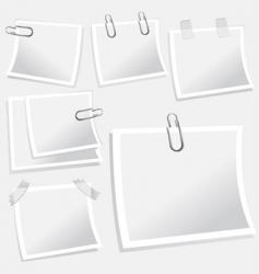 Notepaper illustration vector