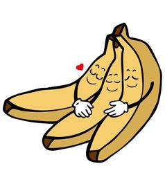 Banana characters vector
