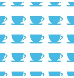 Unique cup seamless pattern vector