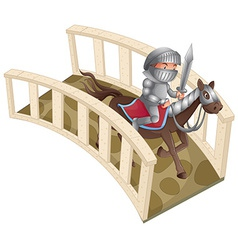 Knight and bridge vector